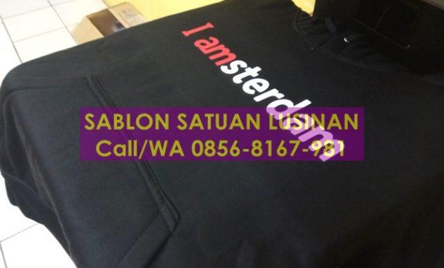 Sablon Kaos Digital Polyflex